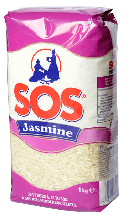 SOS Jasmine 1kg - jázmin rizs recept