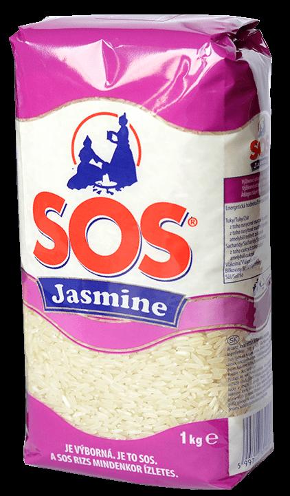 Jasmine SOS 1kg - jazmínová ryža
