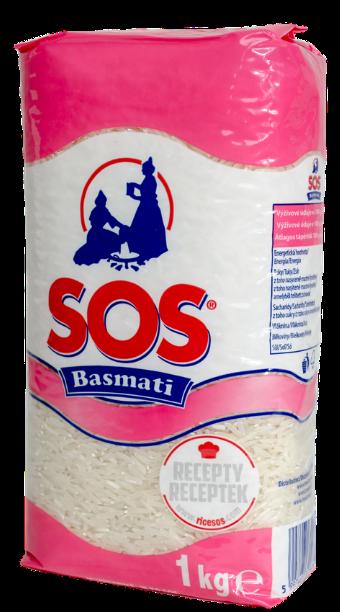 SOS Basmati - basmati rýže - jak uvařit rýži basmati