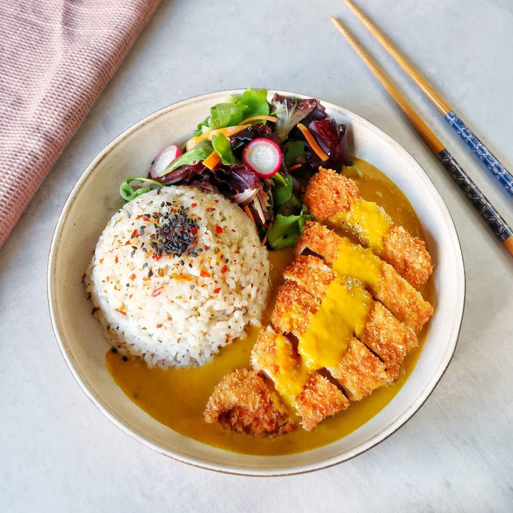 Kuracie katsu s ryžou